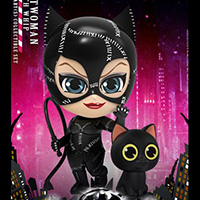 Catwoman with Whip Cosbaby - Batman Returns - Hot Toys cosb716