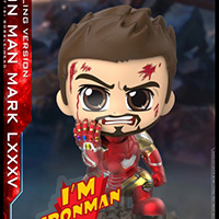 Iron Man Mark 85 Battling Version Cosbaby - Avengers: Endgame - Hot Toys cosb651