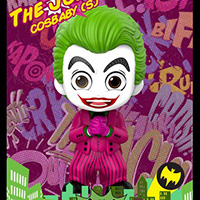 Joker Cosbaby - Batman Classic - Hot Toys cosb708