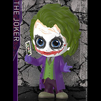 Joker Cosbaby - Batman Dark Knight - Hot Toys cosb677