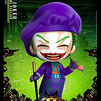 Joker Laughing Version Cosbaby - Batman 1989 - Hot Toys cosb712