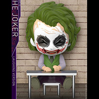 Joker Laughing Version Cosbaby - Batman Dark Knight - Hot Toys cosb676