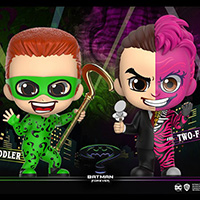 Riddler and Two-Face Cosbaby - Batman Forever - Hot Toys Cosbaby cosb720