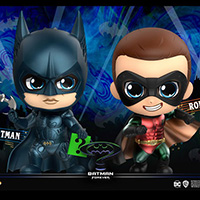 Batman and Robin Cosbaby - Batman Forever - Hot Toys cosb719