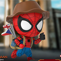Spiderman Travelling Version Cosbaby - Spider-Man Far From Home - Hot Toys cosb672