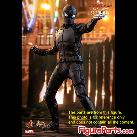 Head Join - Hot Toys Spiderman Stealth Suit mms540 mms541 Deluxe 3