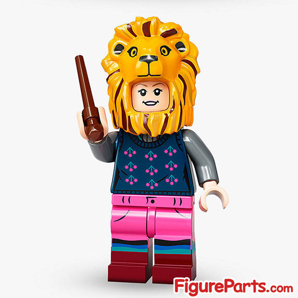 Lego Luna Lovegood Minifigure  - Lego Collectible Minifigures Harry Potter Series 2 - 71028