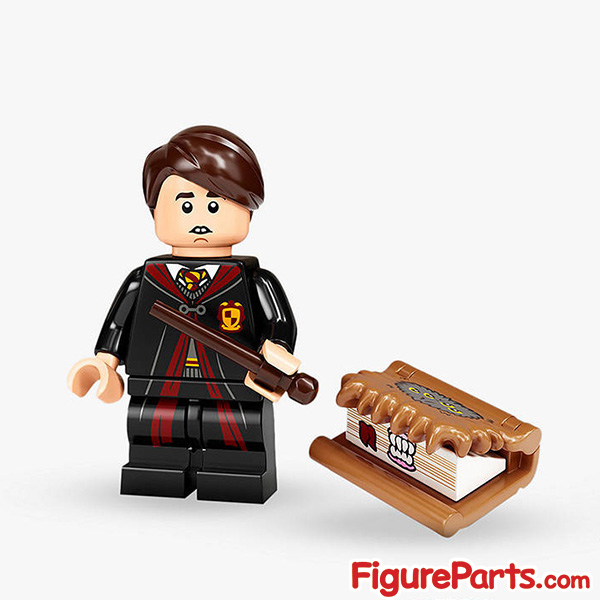 Lego Neville Longbottom Minifigure  - Lego Collectible Minifigures Harry Potter Series 2 - 71028