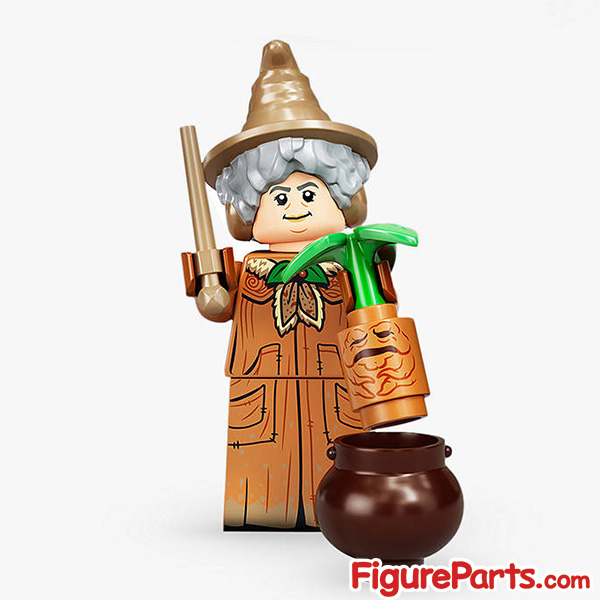 Lego Professor Sprout Minifigure  - Lego Collectible Minifigures Harry Potter Series 2 - 71028