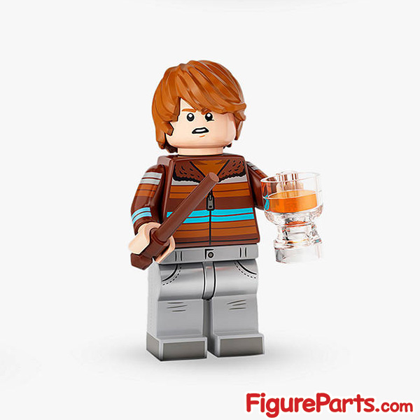 Lego Ron Weasley Minifigure  - Lego Collectible Minifigures Harry Potter Series 2 - 71028