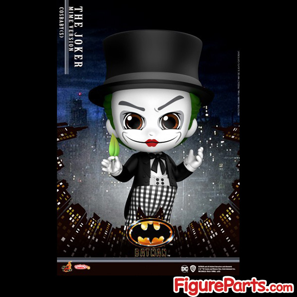 Hot Toys Joker Mime Version Cosbaby cosb713 - Batman 1989