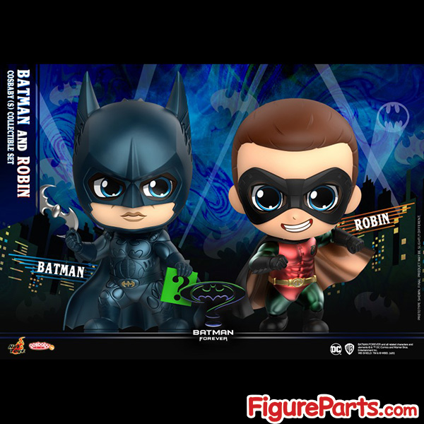 Hot Toys Batman and Robin Cosbaby cosb719 - Batman Forever