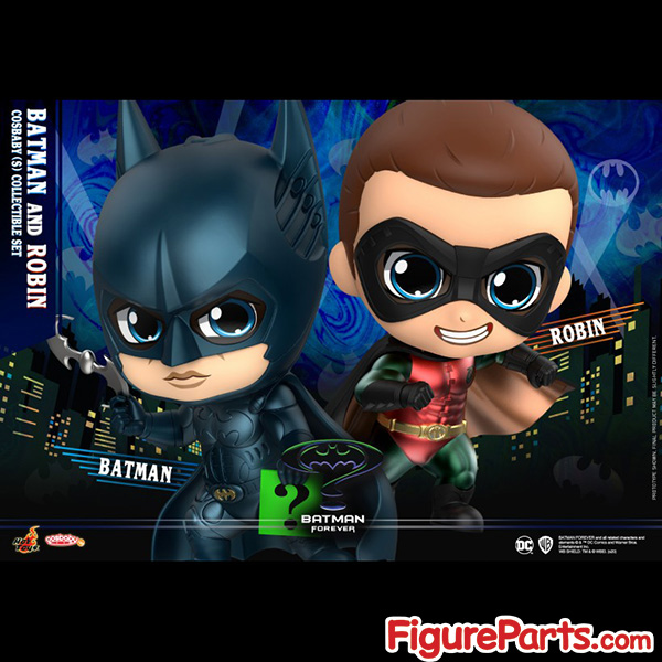 Hot Toys Batman and Robin Cosbaby cosb719 2