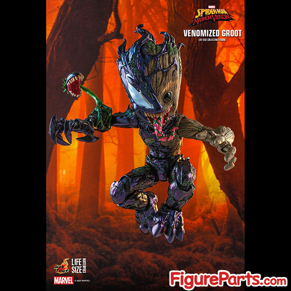 Hot Toys Venomized Groot - Spider-Man Maximum Venom -  lms014 2