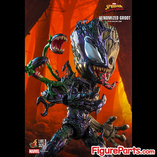 Hot Toys Venomized Groot - Spider-Man Maximum Venom -  lms014 5