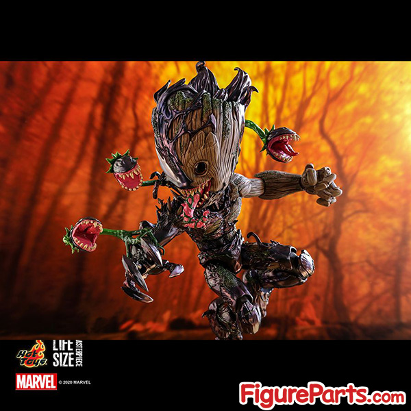 Hot Toys Venomized Groot - Spider-Man Maximum Venom -  lms014 4