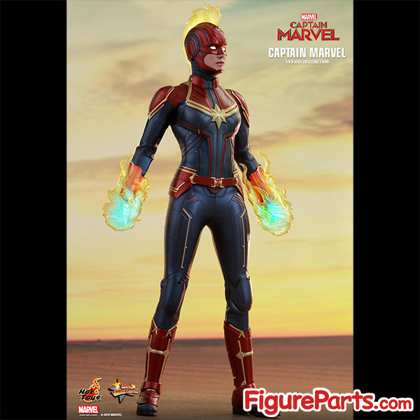 Hot Toys Captain Marvel Normal Version mms521 1