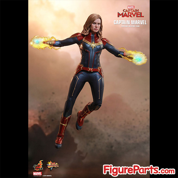 Hot Toys Captain Marvel Normal Version mms521 3