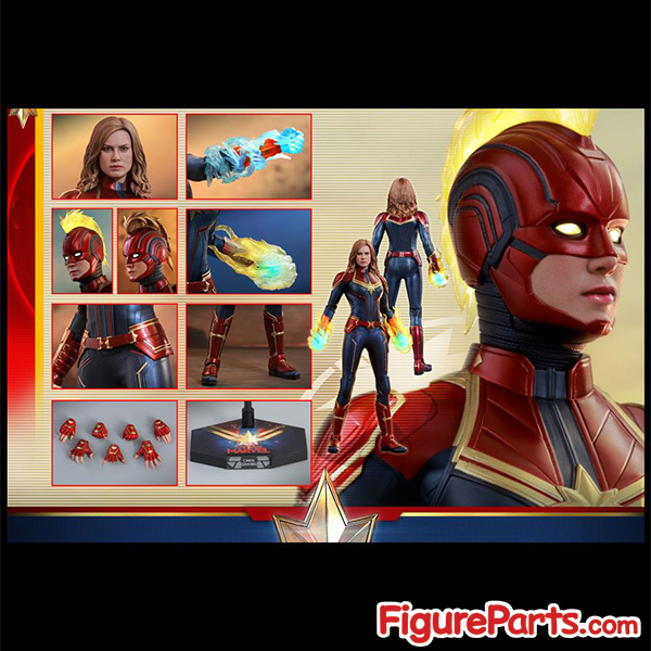 Hot Toys Captain Marvel Normal Version mms521 4