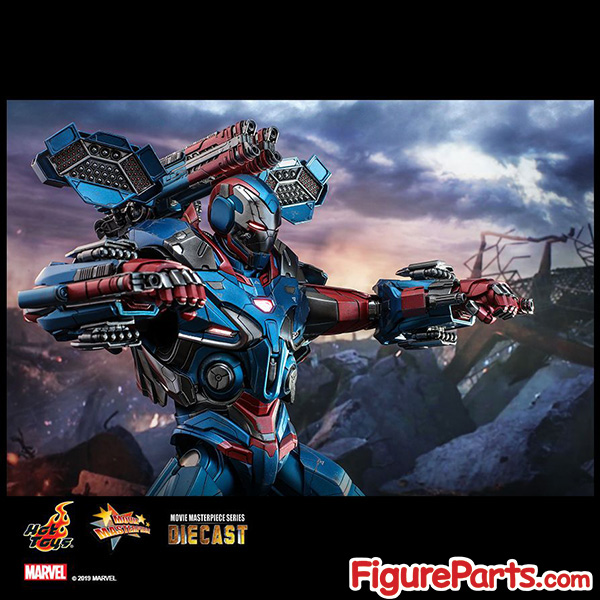 Hot Toys Iron Patriot Avengers Endgame mms547D34 mms547 4