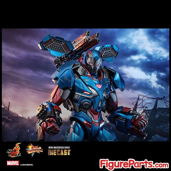 Hot Toys Iron Patriot Avengers Endgame mms547D34 mms547 7
