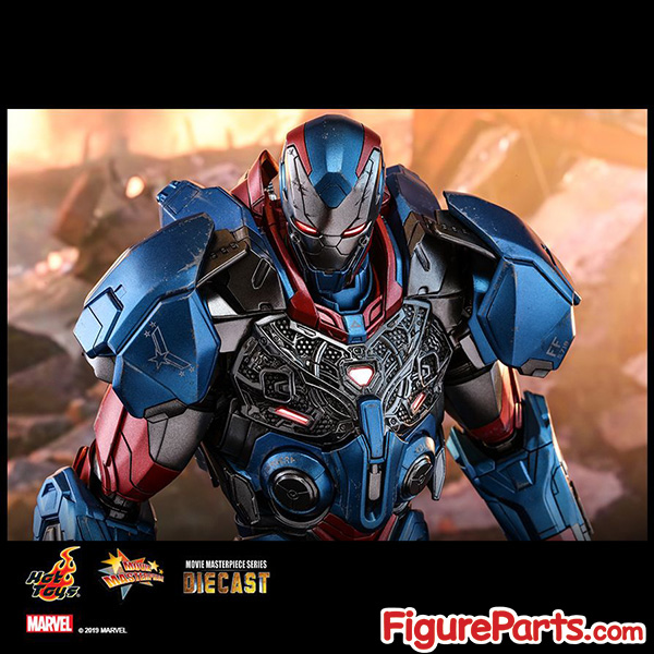 Hot Toys Iron Patriot Avengers Endgame mms547D34 mms547 3