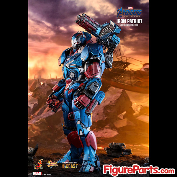 Hot Toys Iron Patriot Avengers Endgame mms547D34 mms547 5